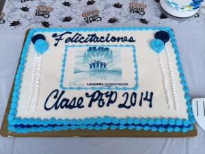 PEP graduation cake