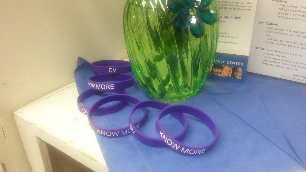 Domestic Violence PEP project bracelets
