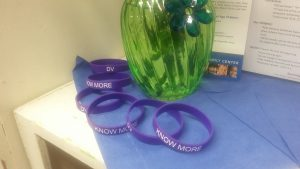 Domestic Violence PEP project bracelets