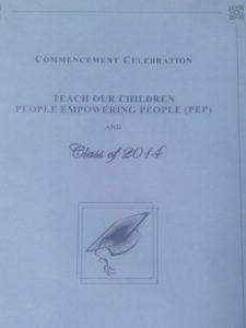 PEP invitation