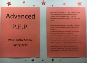 West Bristol PEP hand out